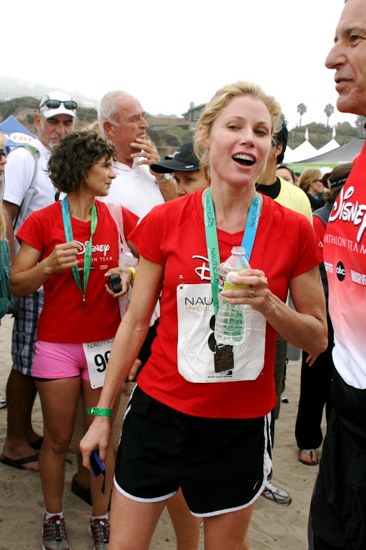 Julie Bowen Malibu Triathlon 2010
