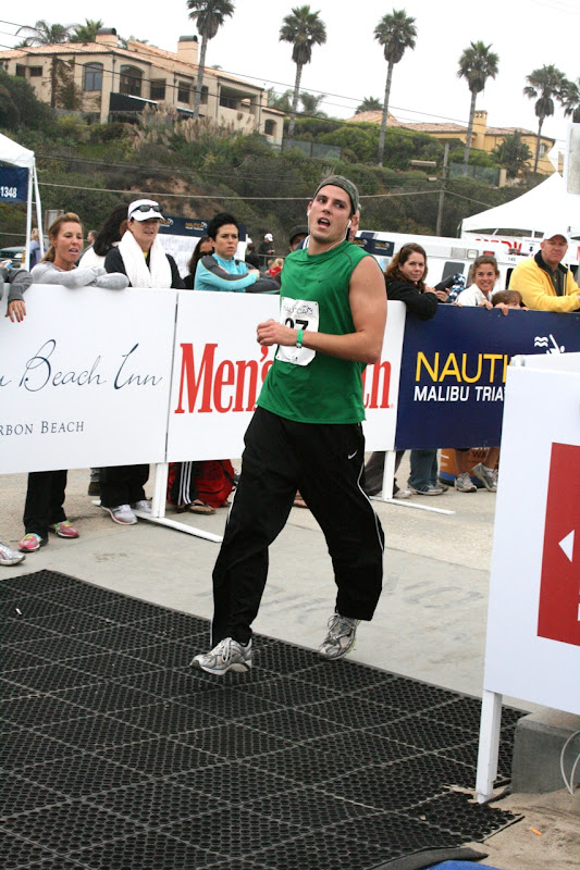 Sean Faris runs Malibu Triathlon 2010