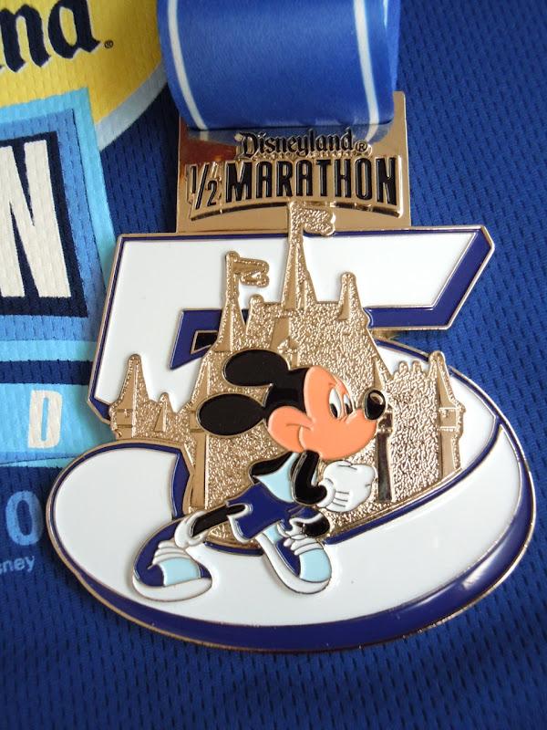 Disneyland Half Marathon 2010 medal