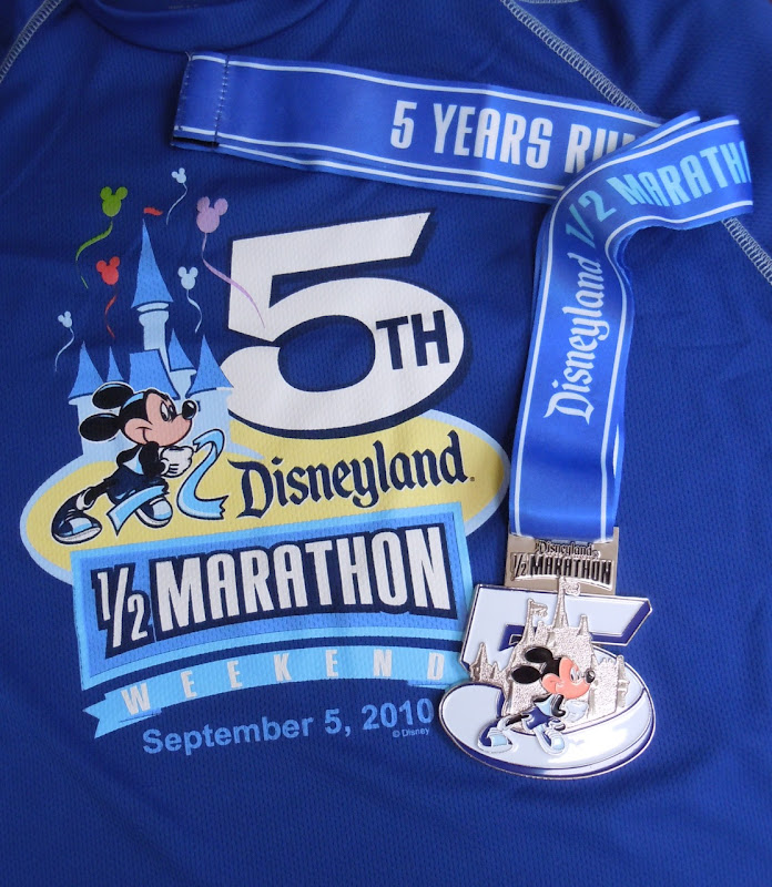Disneyland Half Marathon 2010 T-shirt