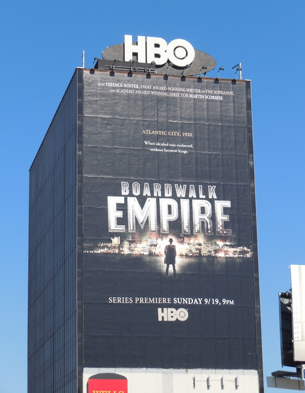 Spectacular Boardwalk Empire billboard