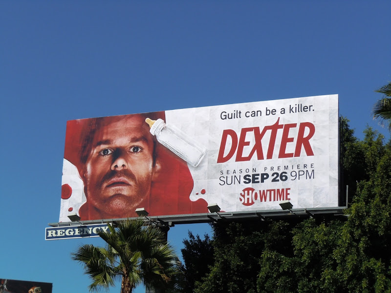 Dexter season 5 TV billboard