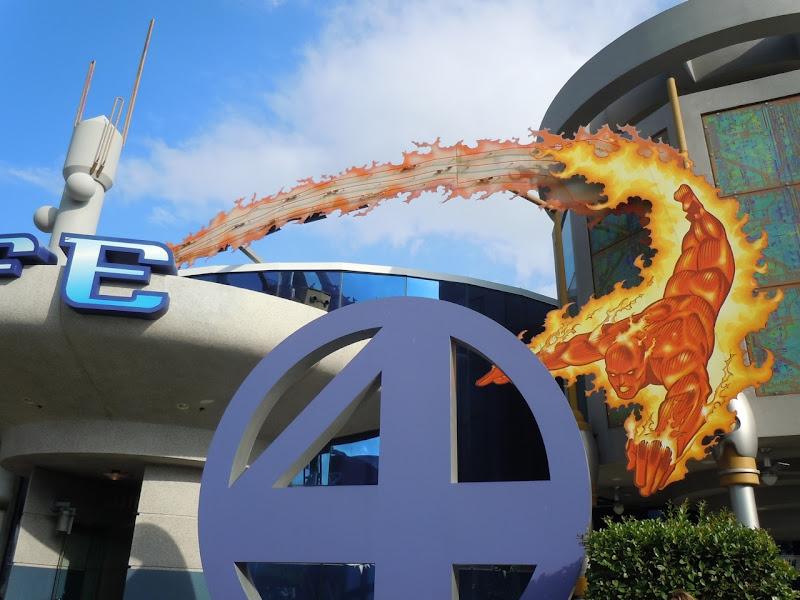 Fantastic Four Cafe Universal Studios