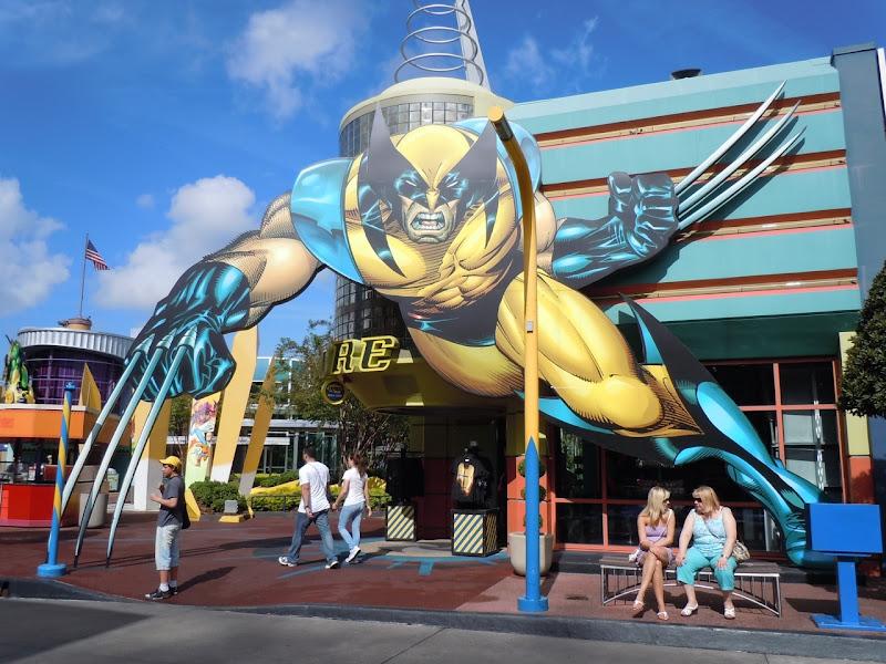 Wolverine Universal Studios Orlando