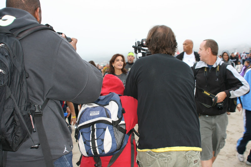 Teri Hatcher paparazzi Malibu Tri 2010