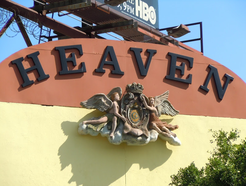 Heaven angel sign