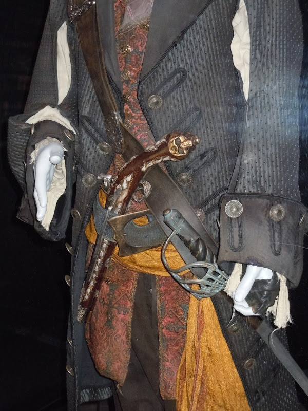 Captain Barbossa Pirates of the Caribbean costume detail