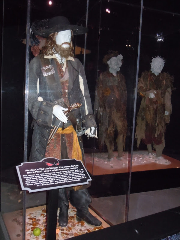 Pirates of the Caribbean costume exhibit