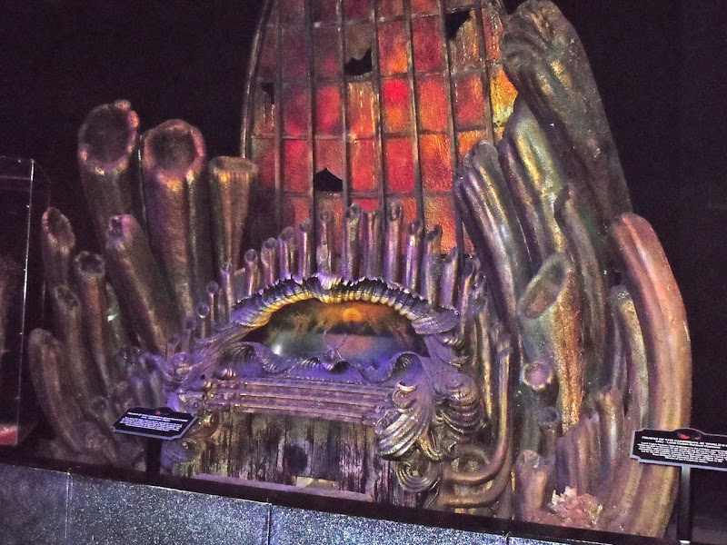 Davy Jones' Organ Pirates prop