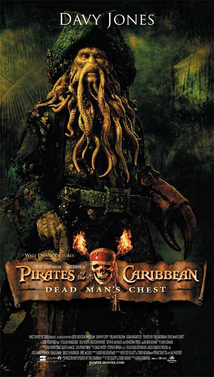Pirates Davy Jones poster