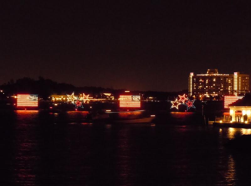 Disney World water lights