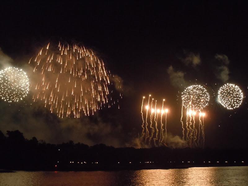 Disney Magic Kingdom firework finale