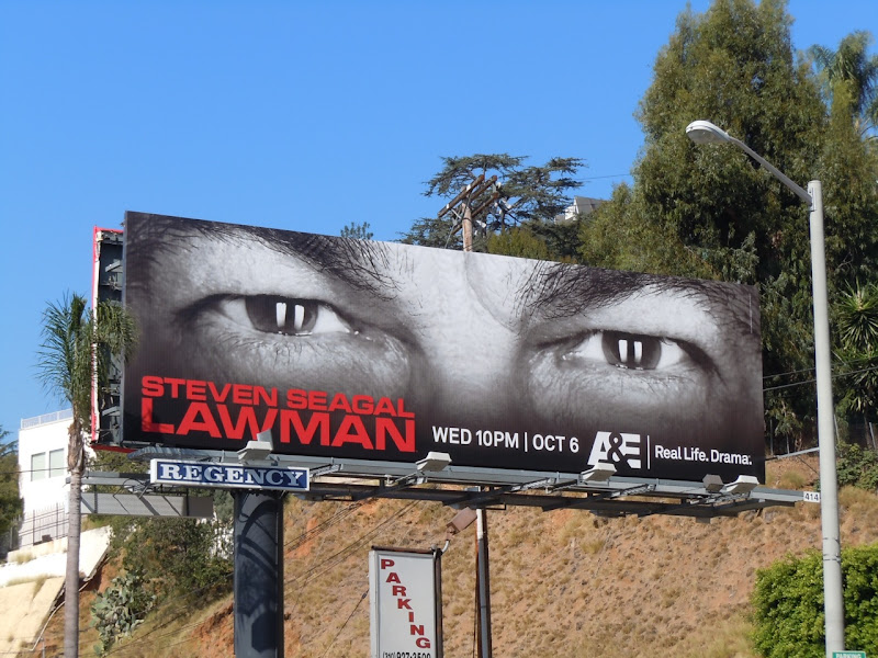 Lawman TV billboard