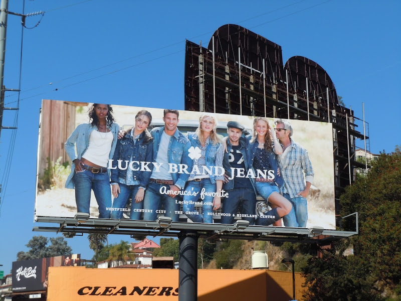 Lucky Brand Jeans billboard