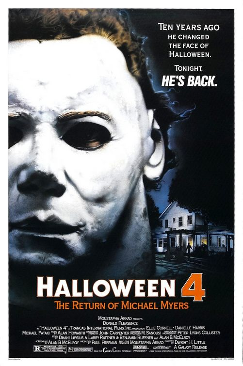 Halloween 4 movie poster