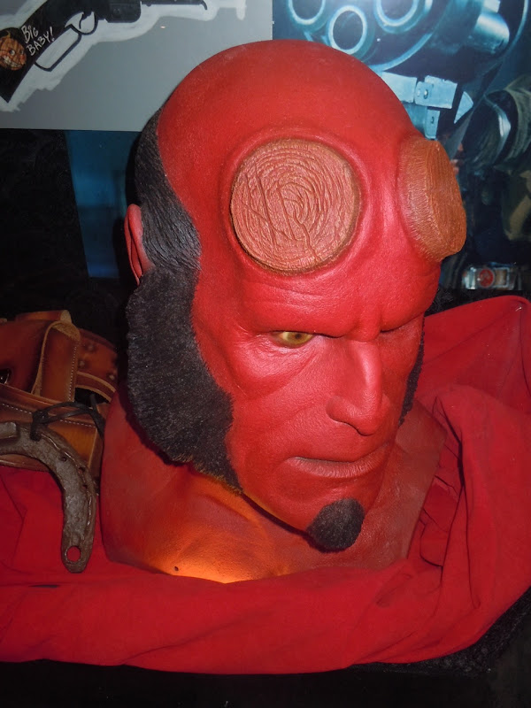 Hellboy II prosthetic mask