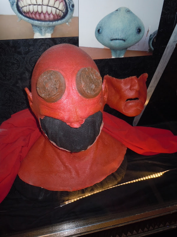 Hellboy prosthetics