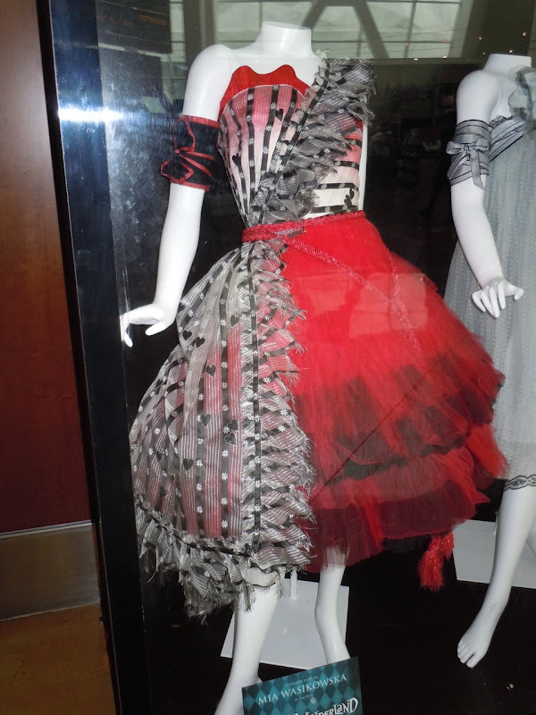 Mia Wasikowska Alice Red Queen Palace dress