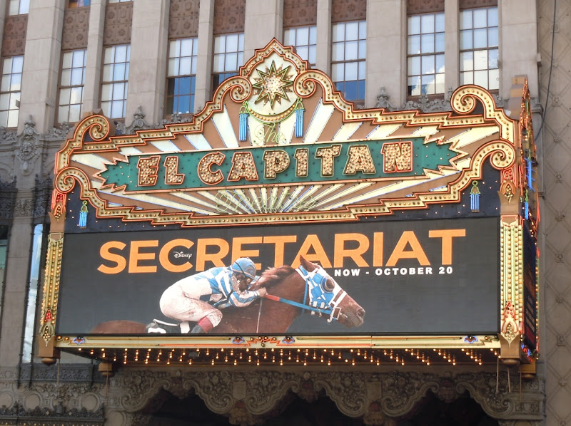 Disney Secretariat El Capitan