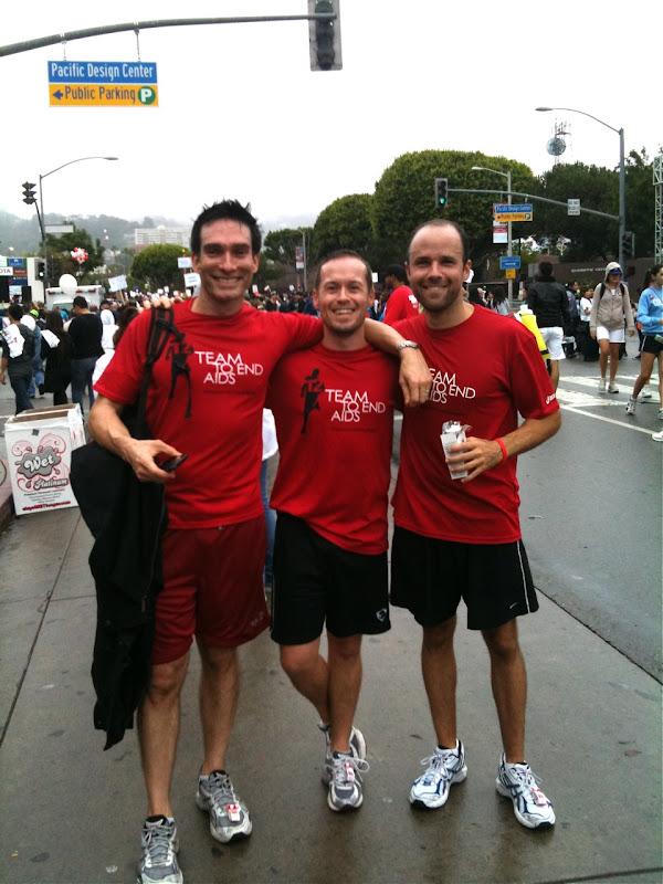 T2 team AIDS Walk 2010