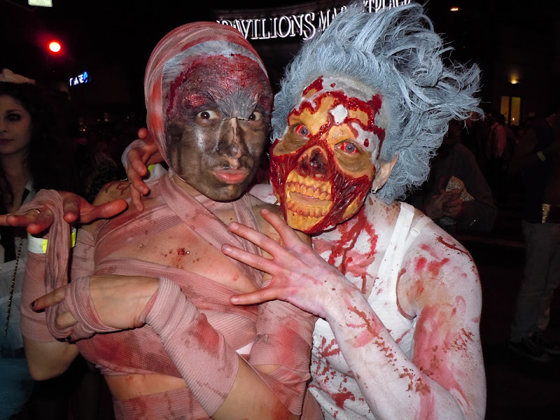 West Hollywood Halloween Carnaval zombies
