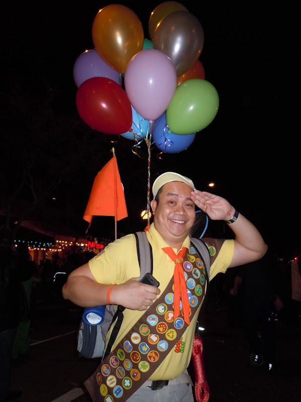 West Hollywood Halloween Russell from UP
