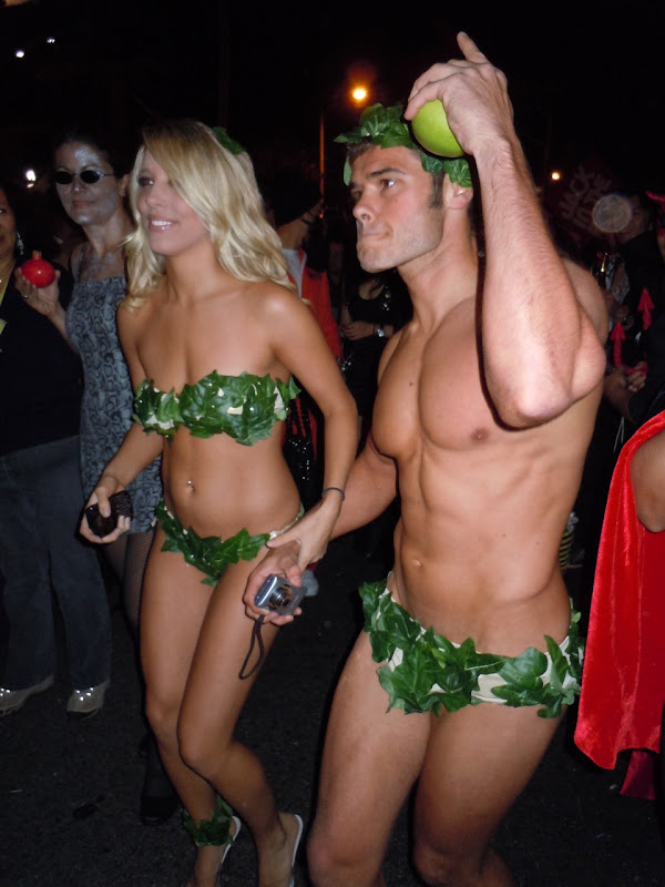 Adam and Eve West Hollywood Halloween Carnaval