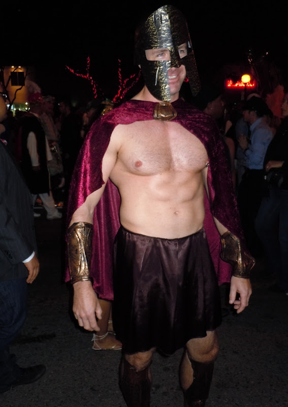 West Hollywood Halloween Carnaval Gladiator 2010