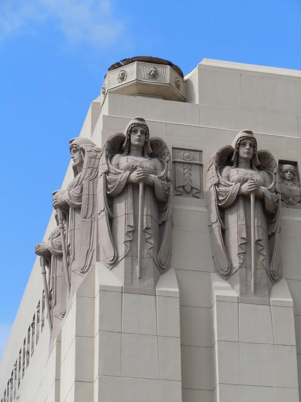 Park Plaza Hotel masonry angels
