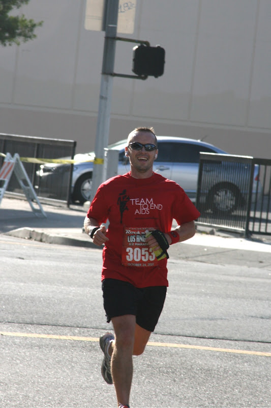 Jason runs Rock n Roll LA Half Marathon