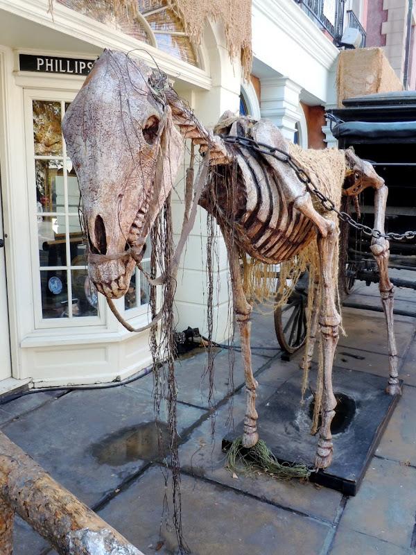 Universal Studios Halloween skeleton horse