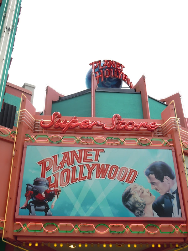 Planet Hollywood store Disney World