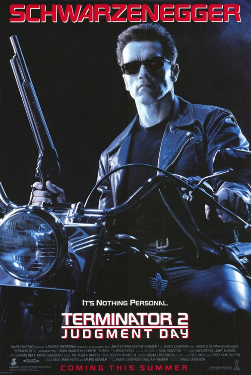 Terminator 2 movie poster