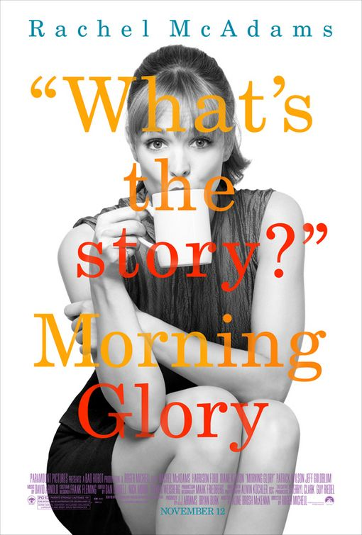 Morning Glory Rachel McAdams poster