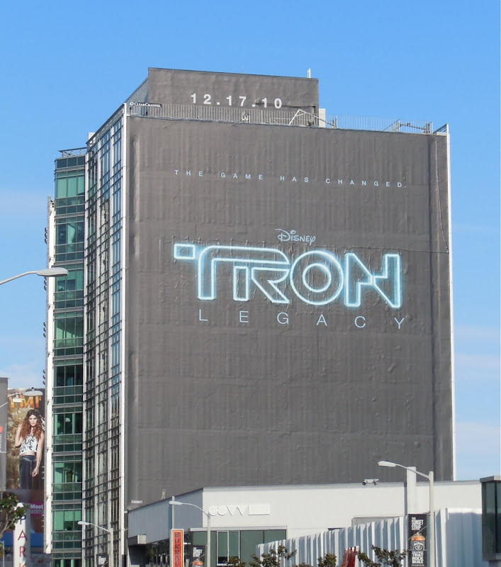 Tron Legacy Sunset Strip billboard