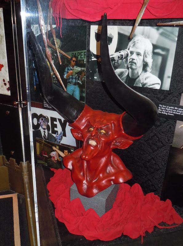 Legend Lord of Darkness head sculpture