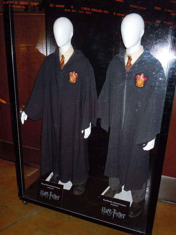 Harry Potter and Ron Weasley movie costumes