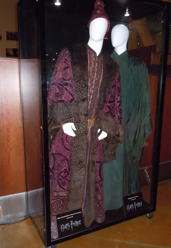 Dumbledore and Voldemort Harry Potter movie costumes