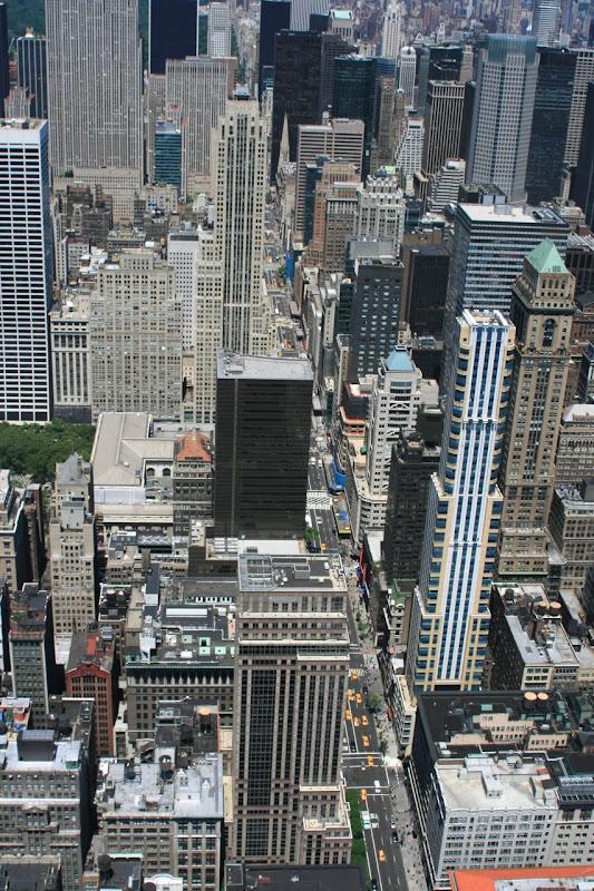 Bustling New York streets