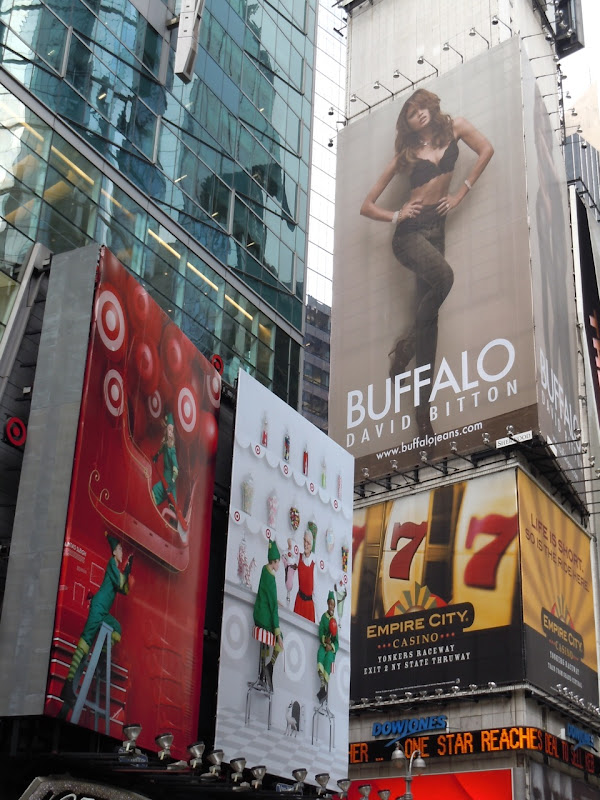 Buffalo David Bitton billboard NYC