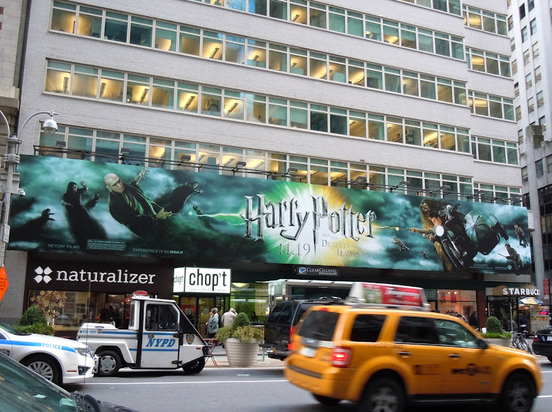 Harry Potter Voldemort battle billboard