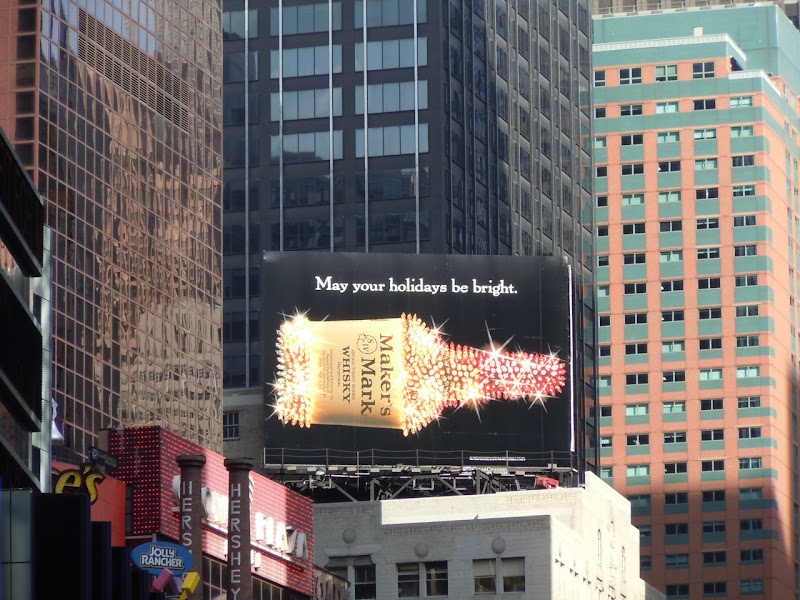 Maker's Mark holidays billboard