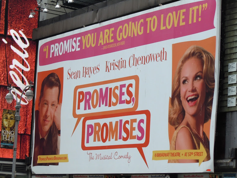 Promises Promises musical billboard
