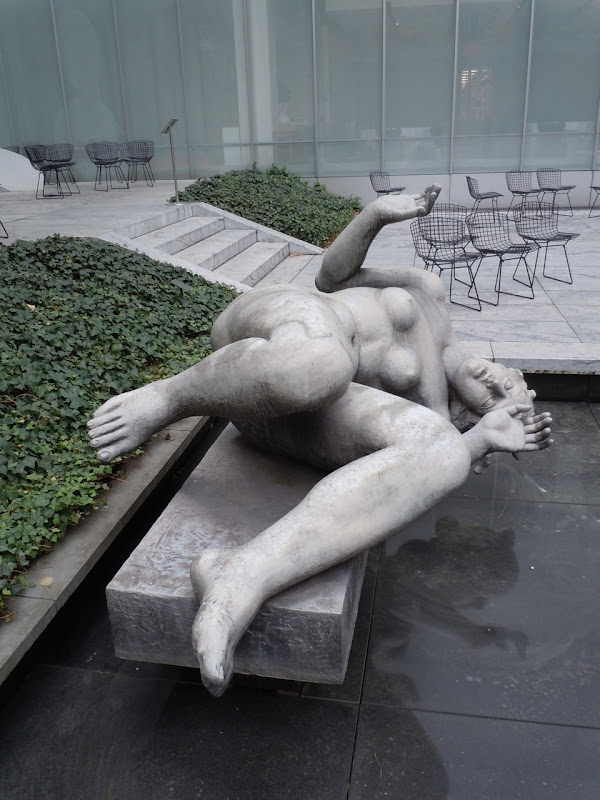 The River sculpture Aristide Maillol