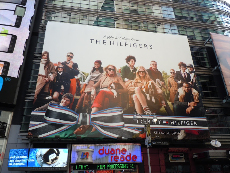 The Hilfigers Holidays 2010 billboard