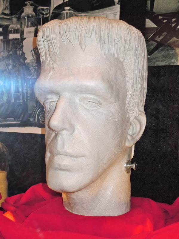 Herman Munster make-up cast
