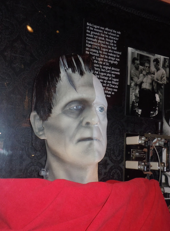 Frankenstein's monster make-up