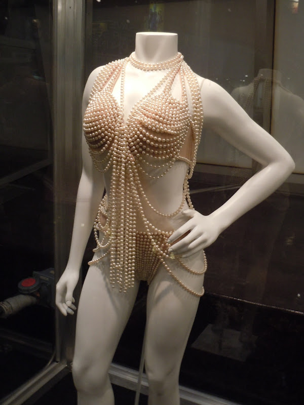 Christina's pearl Burlesque movie costume