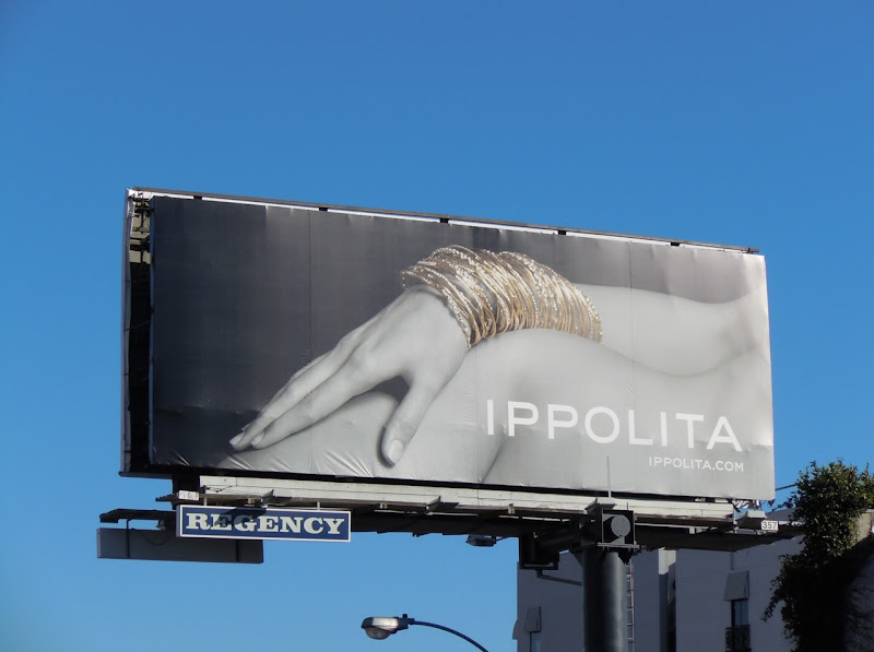 Ippolita jewelry billboard
