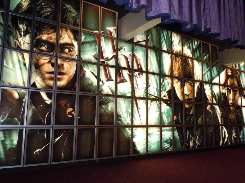 Harry Potter 7 wall ArcLight Sherman Oaks